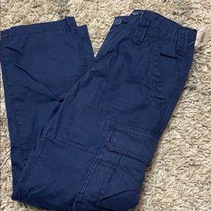 NWT boys gap blue cargo pants sz 8